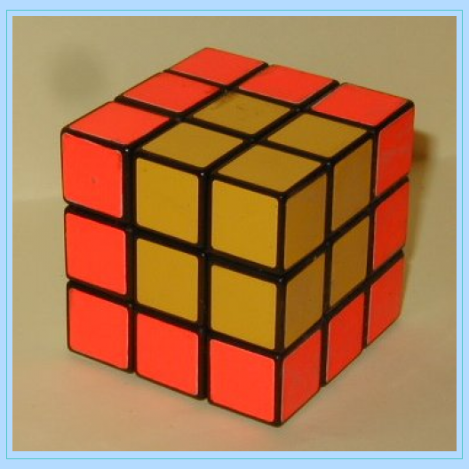 two color rubik cube
